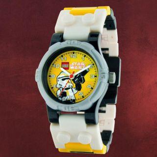 Star Wars Stormtrooper Kinder Armbanduhr von LEGO, Kunststoff
