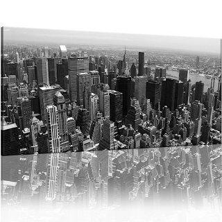 NEW YORK CITY SKYLINE 100x50cm (ct 022c)   Big Apple Panorama Bild auf
