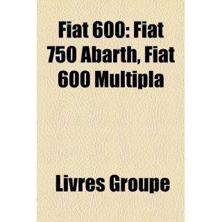 Fiat 600 Fiat 750 Abarth, Fiat 600 Multipla Bücher