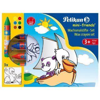 Pelikan 723130   mini friends Wachsmaler Set Spielzeug