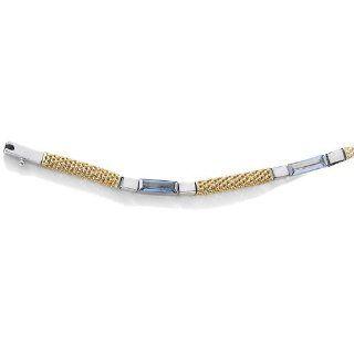 18 Karat (750) Bicolor Gold Damen   Armband 190mm Schmuck