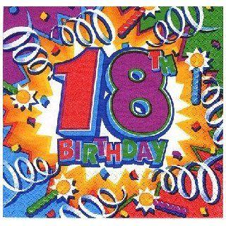 Servietten Happy Birthday 18 Sport & Freizeit