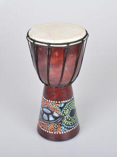Djembe Trommel Muster Schildkroete Bongo Afrika Style Musik