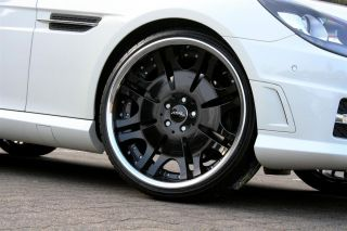 Zoll 20 Alufelgen Felgen Mercedes SLK 55 AMG 172 W172 schwarz