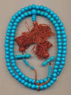 Mala mit 108 Perlen (8 mm) aus Yak Modeschmuck Rosaire bijoux 55c