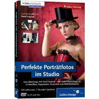 Perfekte Porträtfotos im Studio   Live Shootings mit Pavel Kaplun