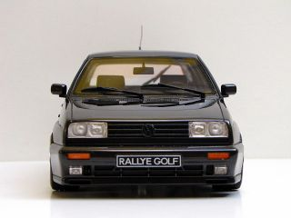 VW GOLF 2 GTI G60 RALLYE 1:18 TUNING OTTO MOBILE OVP