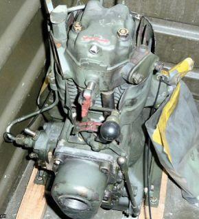 Hatz Diesel Motor E 673 LHK 236A, überprüft