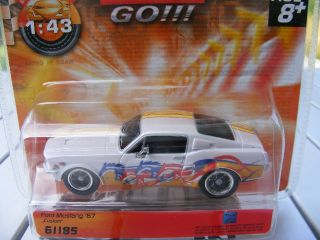 Carrera GO 61185 Ford Mustang 67 Custom NEU USA
