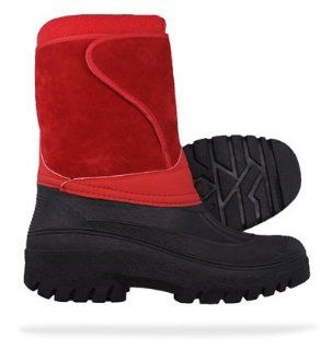 Groundwork Fleece Lined Snow / Mucker Womens Boots   Red: