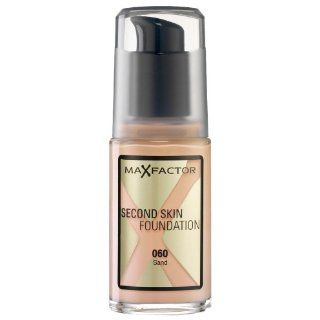 MaxFactor Second Skin Foundation, 60 Sand, 30 ml