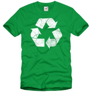The Recycle Vintage T Shirt Herren Big Bang Theory Sheldon Recycling