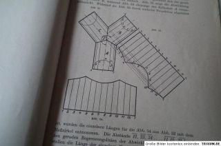 Blechabwicklungen Sammlung Praktischer Verfahren orig.Johann Jaschke