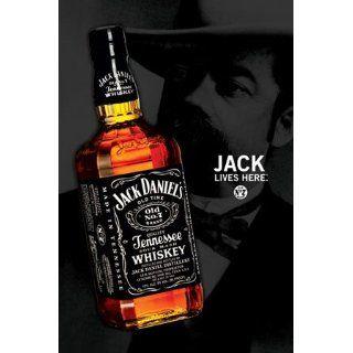 Jack Daniels   Flasche   Werbe Plakat Werbe Poster Whiskey   Grösse