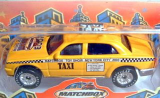 New York Taxi Toy Show 2003 Sondermodell