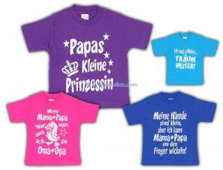 Kinder Mädchen Jungen T Shirts Shirt Lustige Sprüche