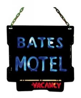 PSYCHO BATES MOTEL WITH BLINKING VACANCY SIGN LICENSED OFFICIAL 1752