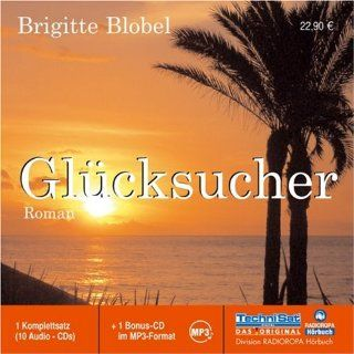 Glücksucher. 10 CDs +  CD, ungekürzte Lesung Brigitte
