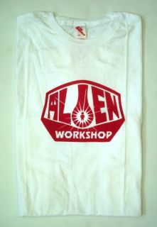 ALIENWORKSHOP T Shirt OG Logo white Größe M