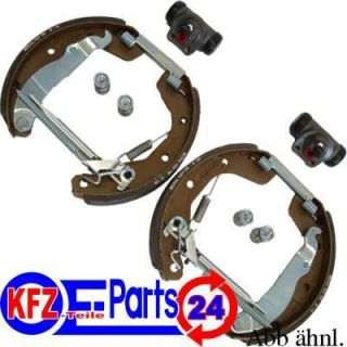 BREMSBACKEN SATZ TOP SET KIT FIAT 500 + PANDA 169 VAN