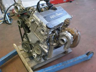 164 2,0 Twinspark Turbo Motor Alfa 75 Gulia Gt Junior Bertone GKAT