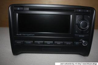 Audi TT Navi Radio Navigation 8J BNS 8J0035192J BNO 881 7612002048