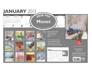 Monet, Claude   2013 Desk Blotter Calendar Calendars