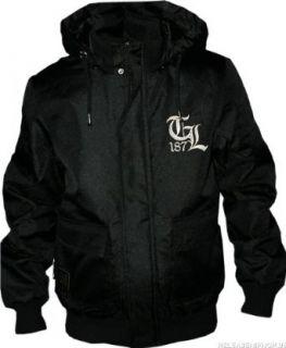 Thug Life   Breaker Hooded Jacket schwarz Bekleidung