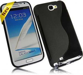New S Design Case handytasche Cover für Samsung Galaxy Note 2 N7100