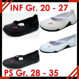 Puma Icon INF Ballerina Schuhe schwarz oder weiss 20 21 22 23 24 25 26