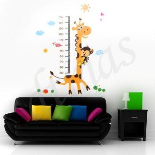 Wandtattoo Wandaufkleber Wandtatoo Wanddeko Wand Deko PVC Giraffe