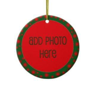 Christmas Stars Photo Template Christmas Ornaments