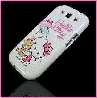 Hello Kitty Case Huk für Samsung Galaxy S3 i9300 Tasche Schutz Hülle