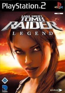 Playstation 2   Lara Croft   Tomb Raider Legend (mit OVP) (gebraucht