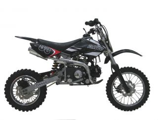 ICS CBF 88 Enduro Cross Dirt Bike 125CC/4Takt Schwarz