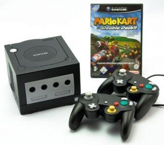 GameCube   Mario Kart Bundle (inkl. Konsole Black, 2 Controller