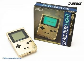 GameBoy Light   Konsole #Gold Edition (JP Import)
