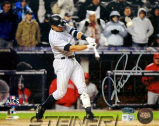 Alex Rodriguez Autographed 2009 ALCS Game 2 HR Horizontal Photograph Photo
