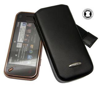Nokia N97 Mini Slim Case Etui Leder Tasche Handytasche