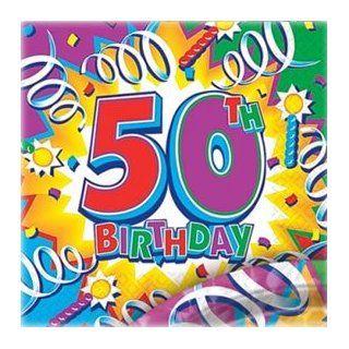 Servietten Happy Birthday 50 Sport & Freizeit