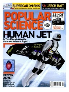 Front cover of Popular Science Magazine February 1, 2009 Posters