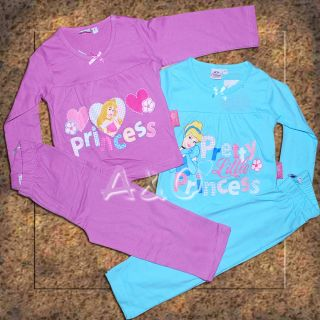 Disney Pyjama Schlafanzug Princess NEU 92 98 104 110 Shirt Hose