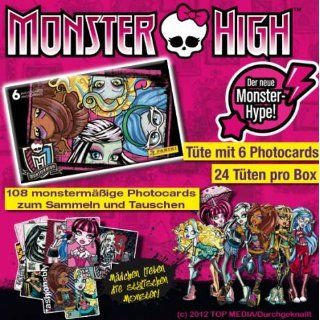 Sammelkarten Panini Monster High, Liefermenge  24