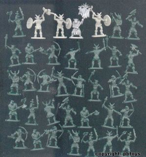 72 Figuren Caesar Fantasy 106 Orc Warriors Orks Herr der Ringe
