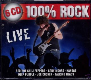 100 % ROCK   LIVE   6 CD Box (NEU + OVP)