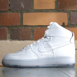 Nike Air Force One High Premium Weiß (White Pack) 386161 101