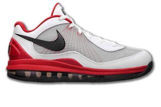 Nike Air Max 360 BB Low Weiss/Rot Flywire/Leder Neu Größen wählbar