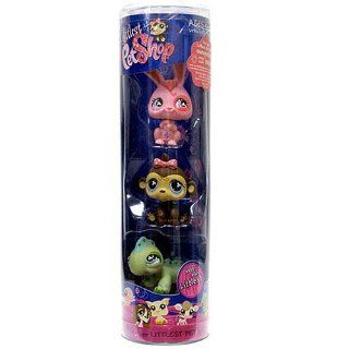 Littlest Pet Shop   LITTLEST 3Pack Rolle   mit grünem Leguan # 499