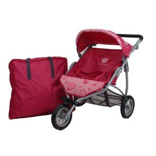 Knorr 16706   Twin Zwillingsjogger Puppenwagen Little Princess