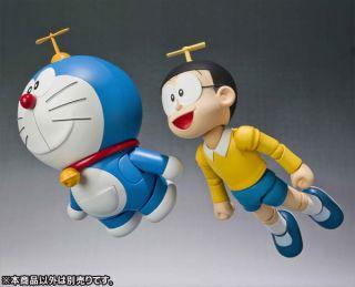 Bandai Robot Soul Spirits Damashii Doraemon 10CM Action Figure NEW